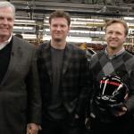 Carl Moyer, Rick Hendrick, Dale Earnhardt Jr.