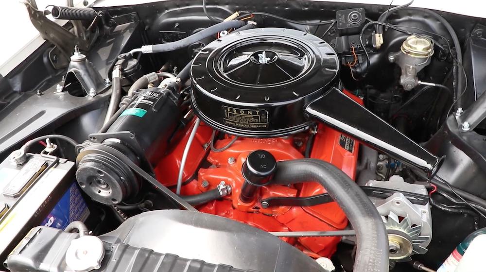 Chevy 327 engine