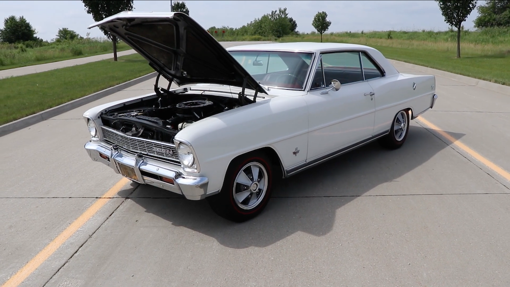 on the road with a 1966 chevy ii nova ss  gm performance